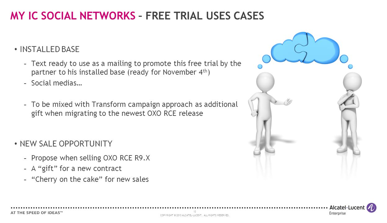 MY IC SOCIAL NETWORKS – FREE TRIAL USES CASES