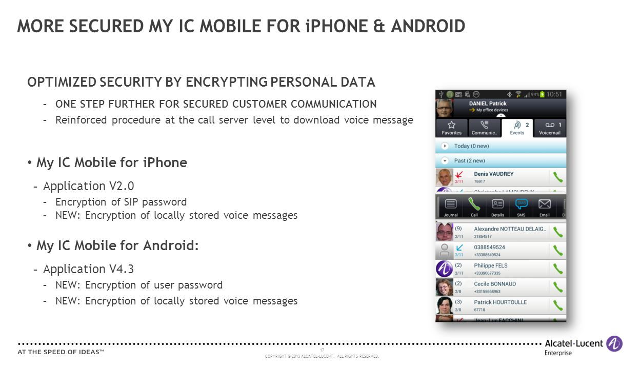 MORE SECURED MY IC MOBILE FOR iPHONE & ANDROID