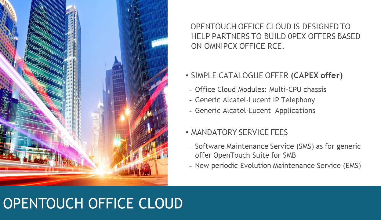 OPENTOUCH OFFICE CLOUD