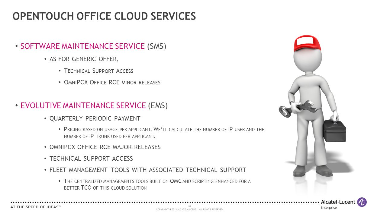 OPENTOUCH OFFICE CLOUD SERVICES