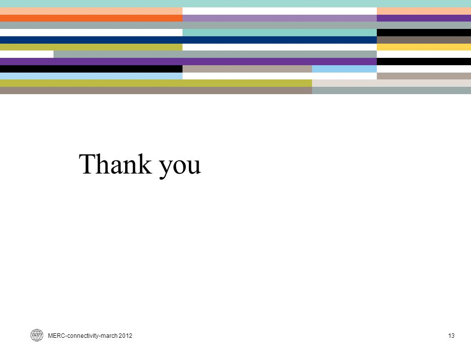 Thank you MERC-connectivity-march 2012