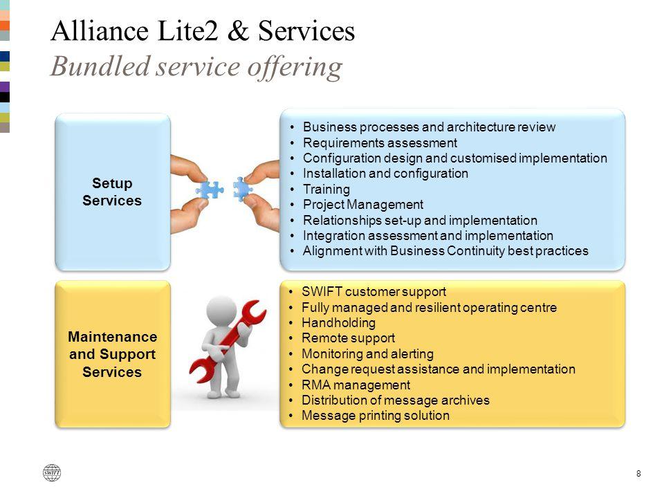 Alliance Lite2 & Services Bundled service offering