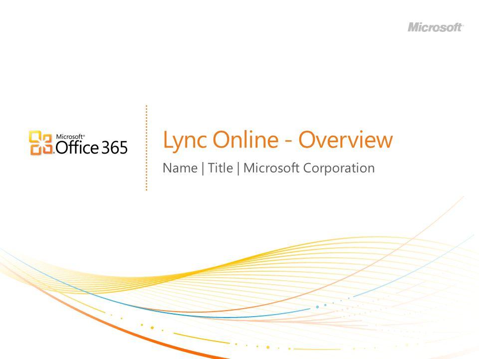 Name | Title | Microsoft Corporation