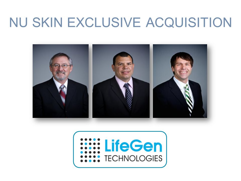 NU SKIN EXCLUSIVE ACQUISITION