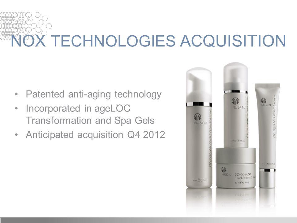 NOX TECHNOLOGIES ACQUISITION