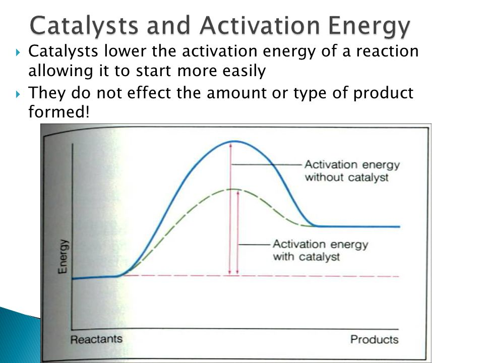 Catalysts and Activation Energy