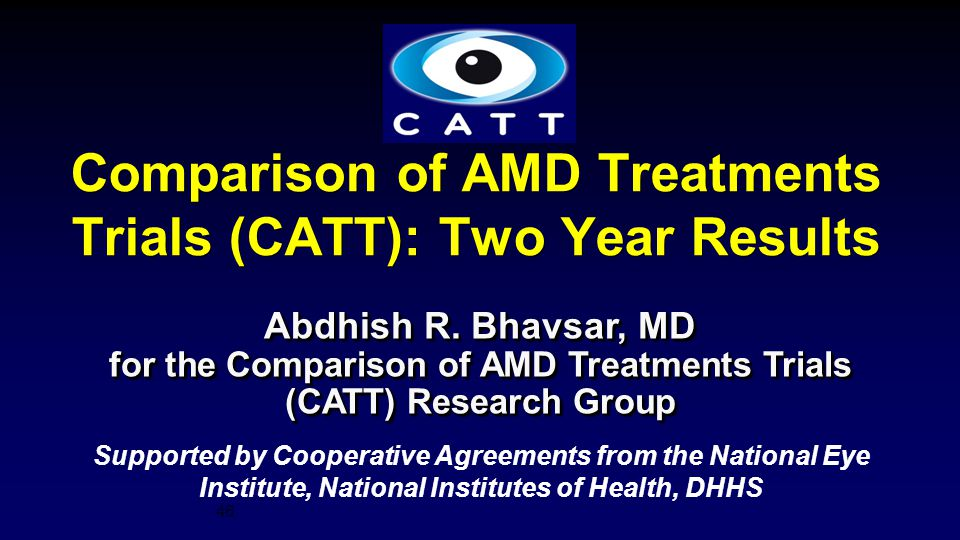 Comparison of AMD Treatments Trials (CATT): Two Year Results
