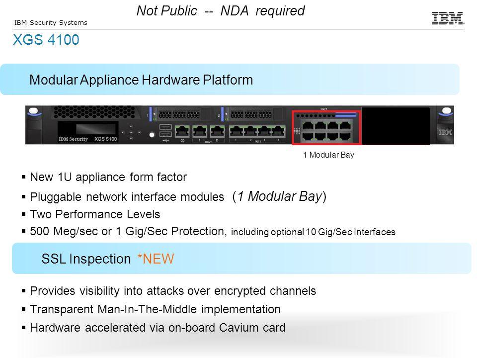 XGS 4100 Not Public -- NDA required