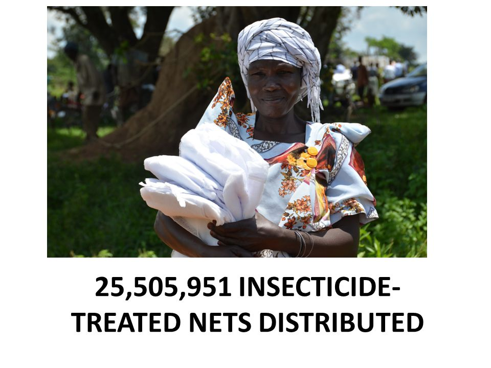 25,505,951 INSECTICIDE-TREATED NETS DISTRIBUTED
