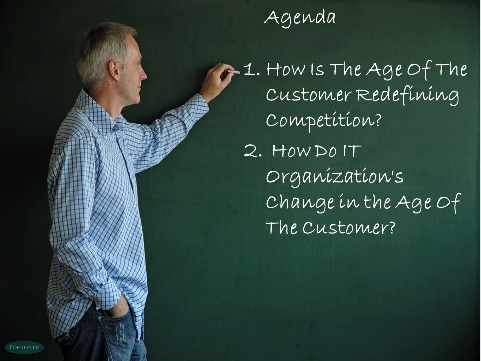 How Is The Age Of The Customer Redefining Competition