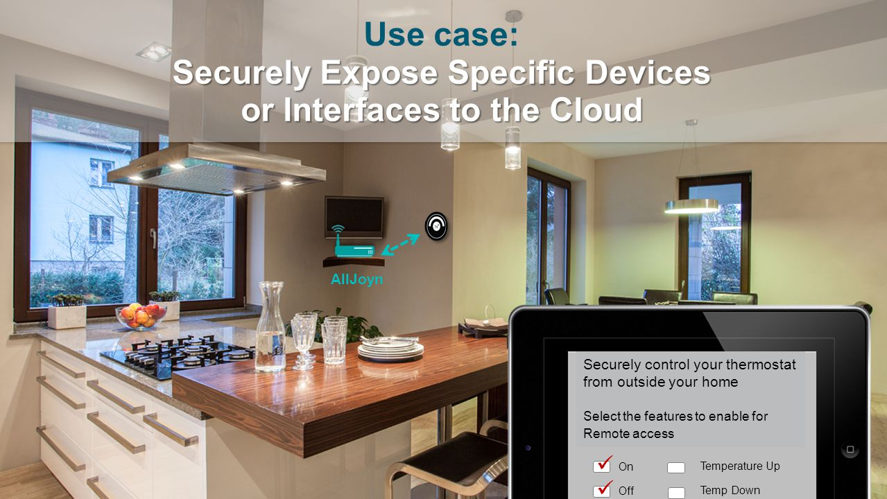 Use case: Securely Expose Specific Devices or Interfaces to the Cloud