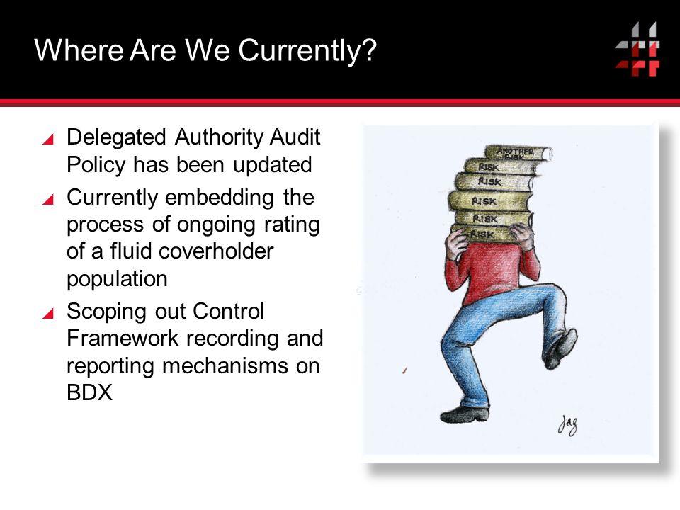 Where Are We Currently Delegated Authority Audit Policy has been updated.