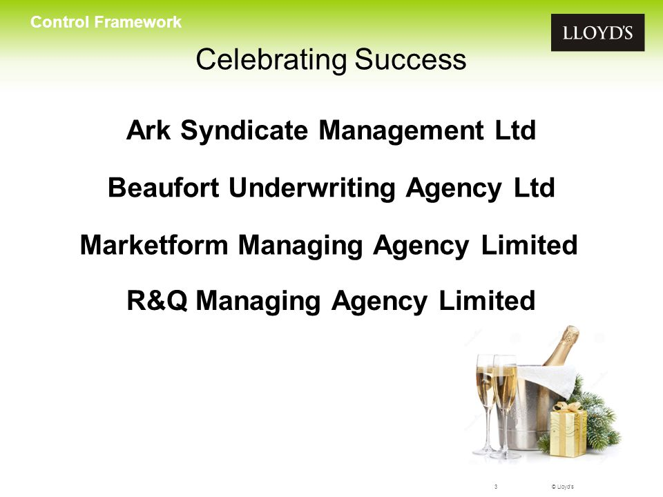 Celebrating Success Ark Syndicate Management Ltd