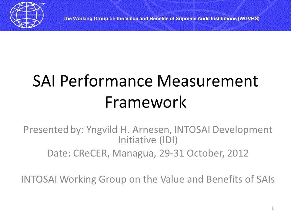 SAI Performance Measurement Framework