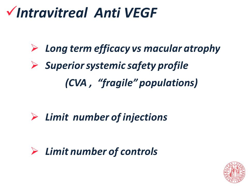 Intravitreal Anti VEGF