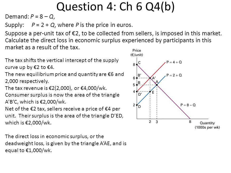 Question 4: Ch 6 Q4(b)