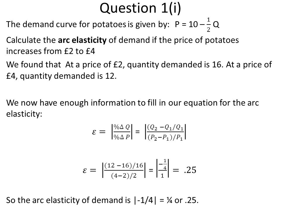 Question 1(i)
