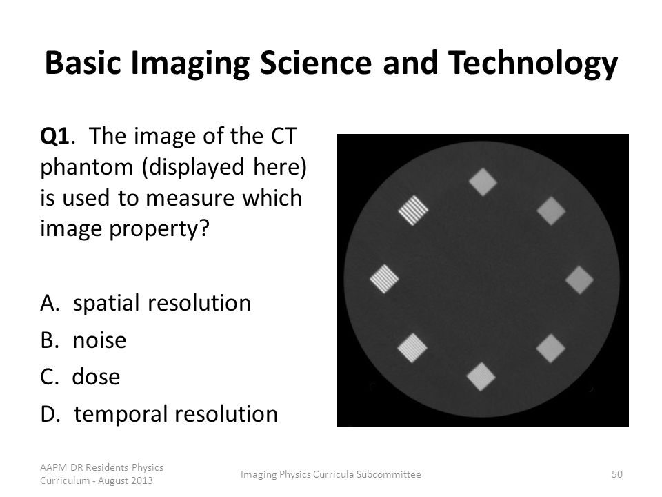 Basic Imaging Science and Technology