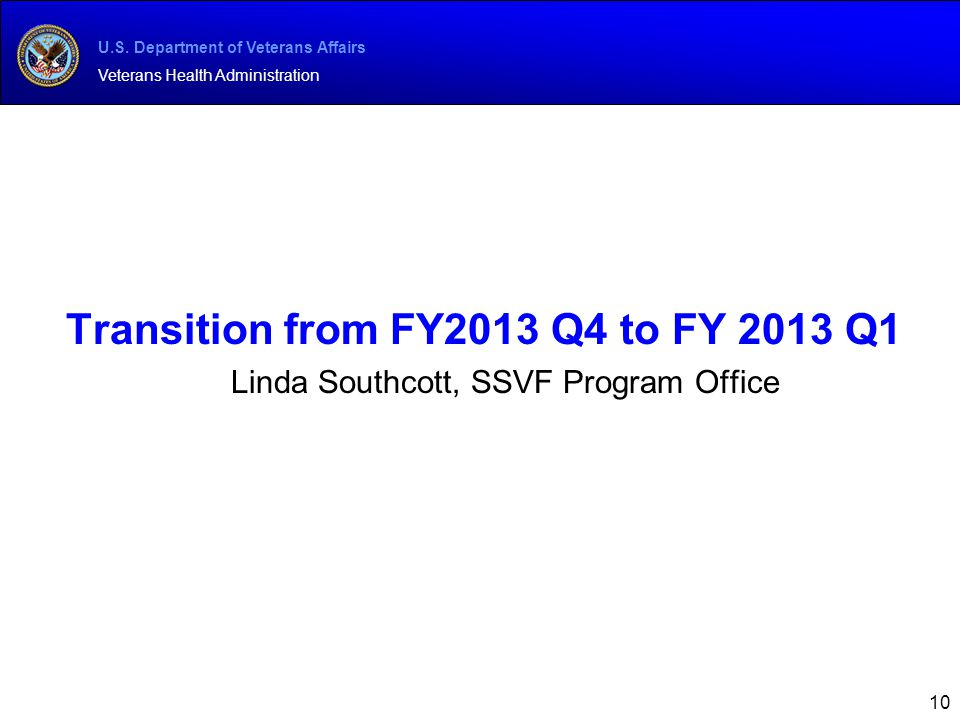 Transition from FY2013 Q4 to FY 2013 Q1