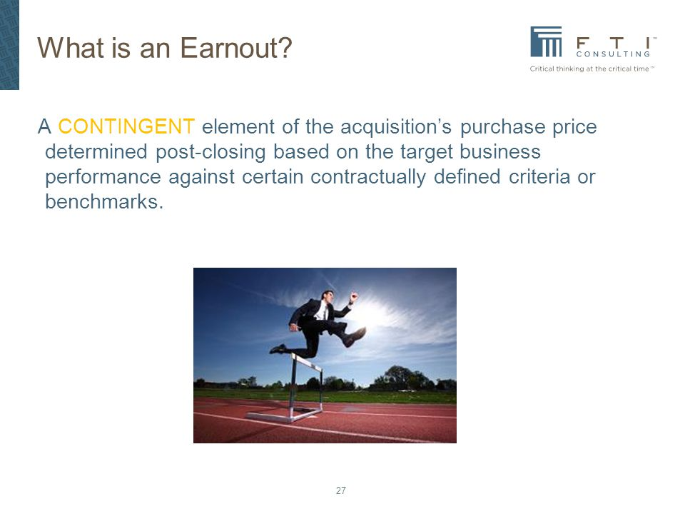 What is an Earnout