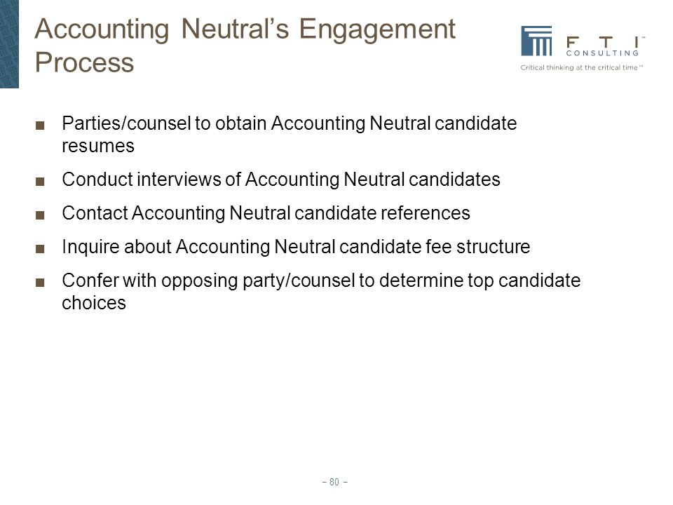 Accounting Neutral's Engagement Process