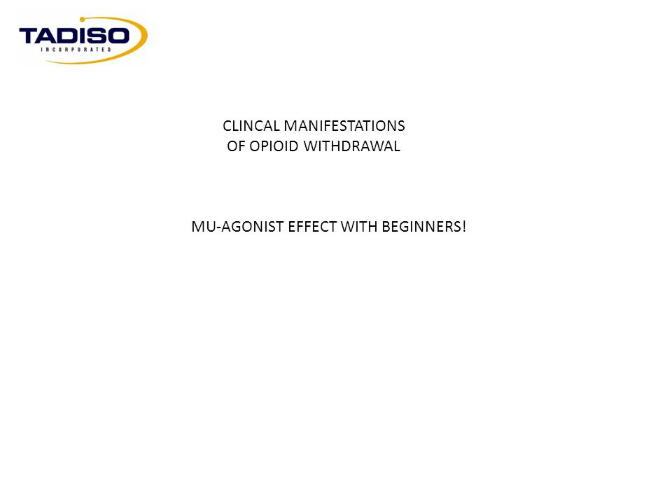 CLINCAL MANIFESTATIONS