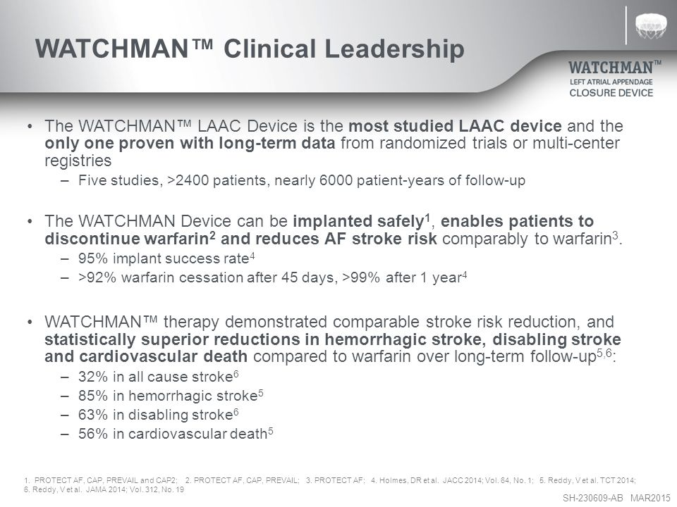 WATCHMAN™ Clinical Leadership