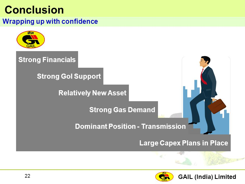 Conclusion Wrapping up with confidence Strong Financials