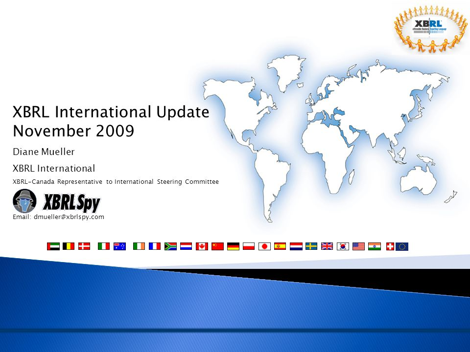 XBRL International Update November 2009