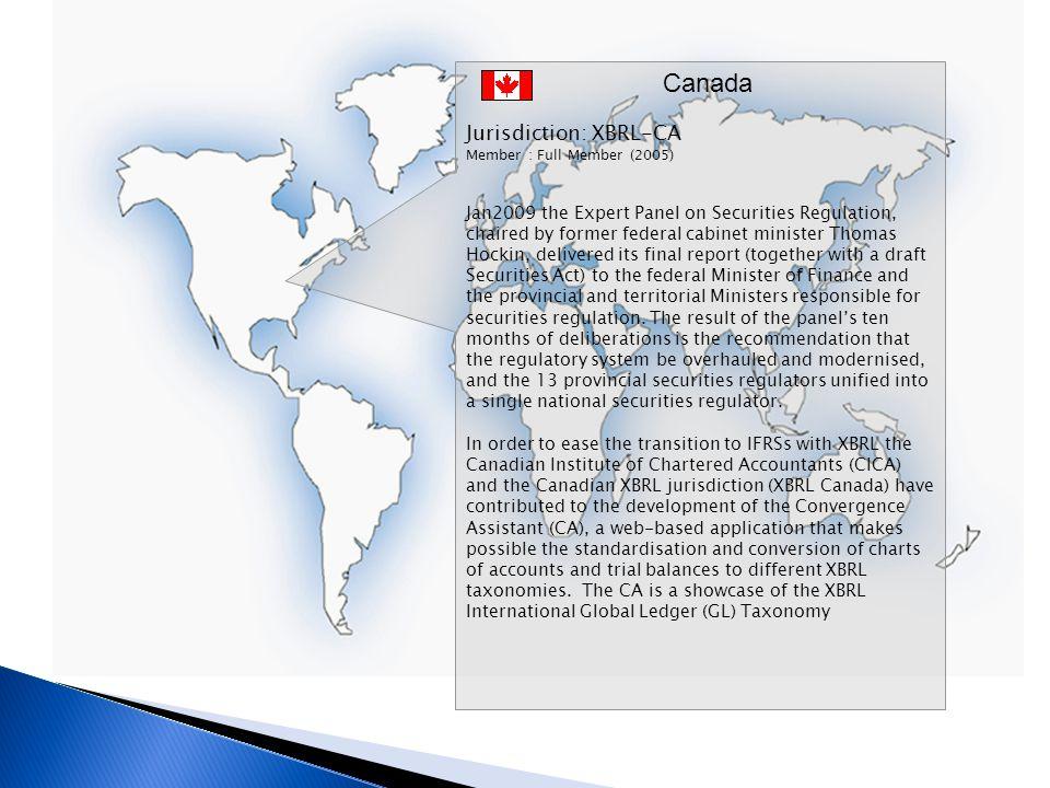 Canada Jurisdiction: XBRL-CA