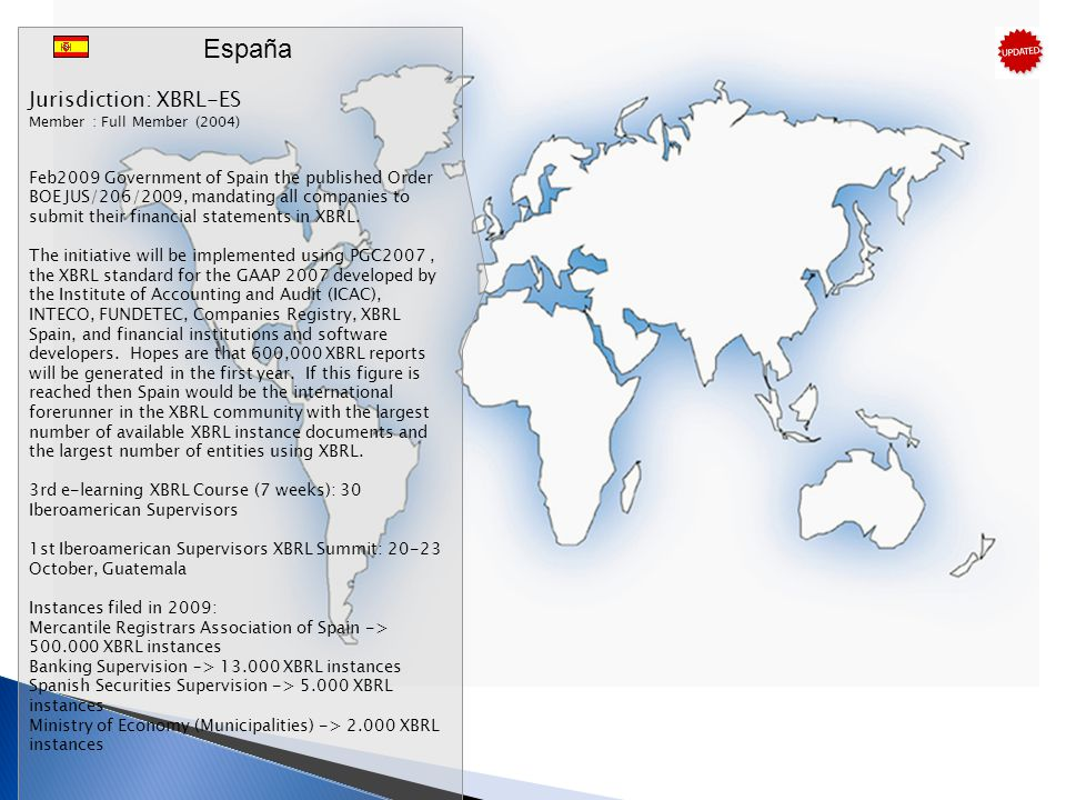 España Jurisdiction: XBRL-ES