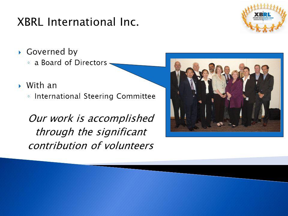 XBRL International Inc.