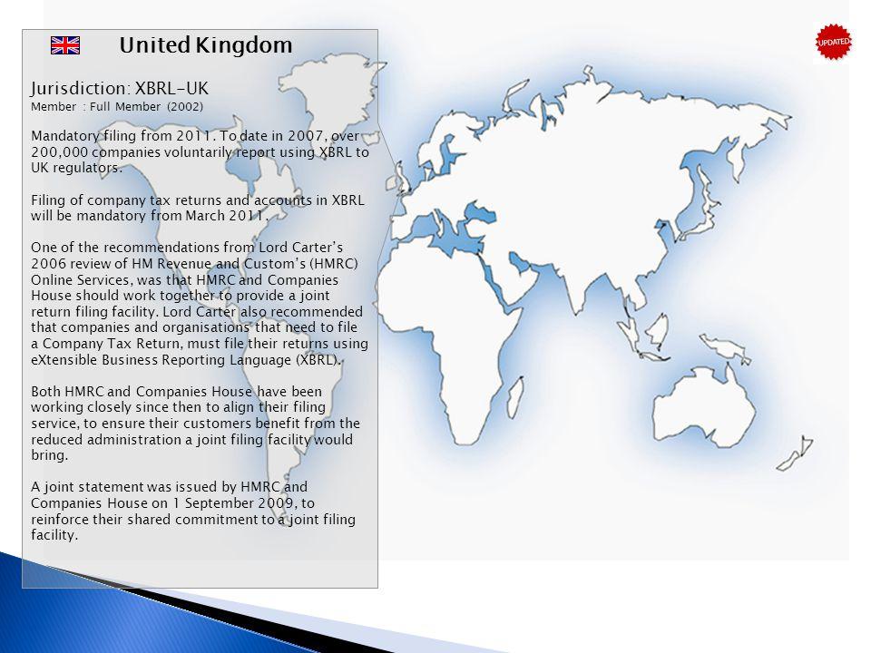 United Kingdom Jurisdiction: XBRL-UK