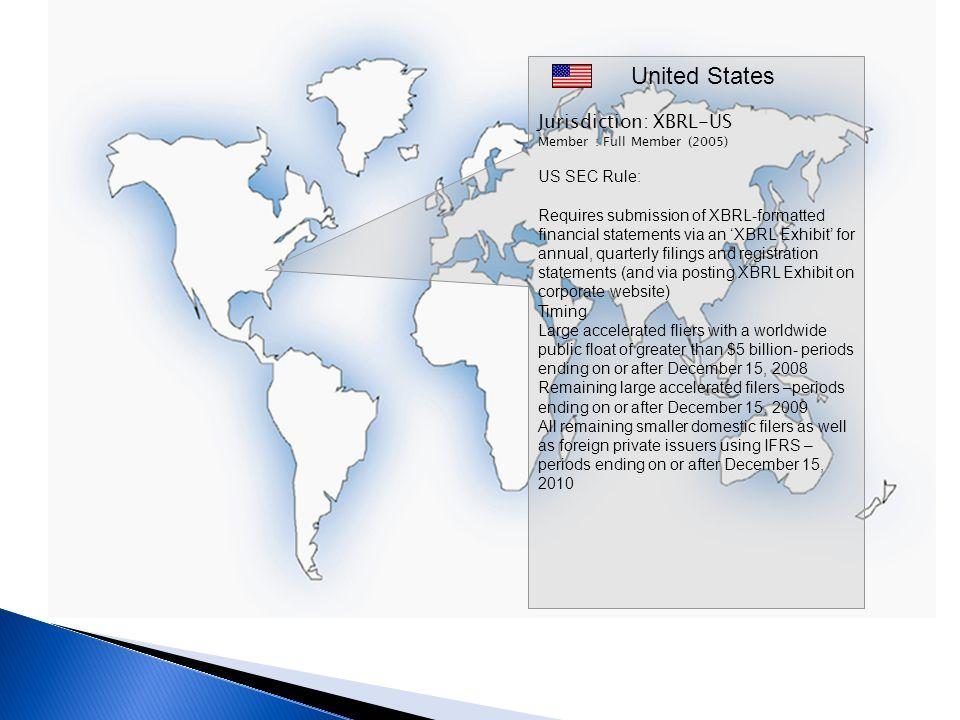United States Jurisdiction: XBRL-US US SEC Rule: