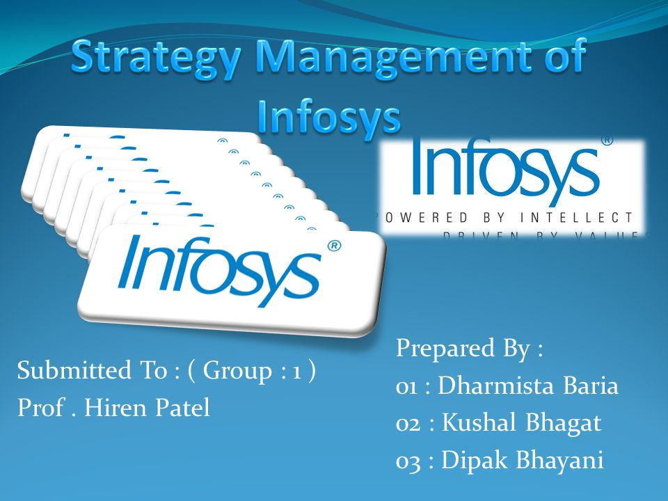 Strategy Management of Infosys