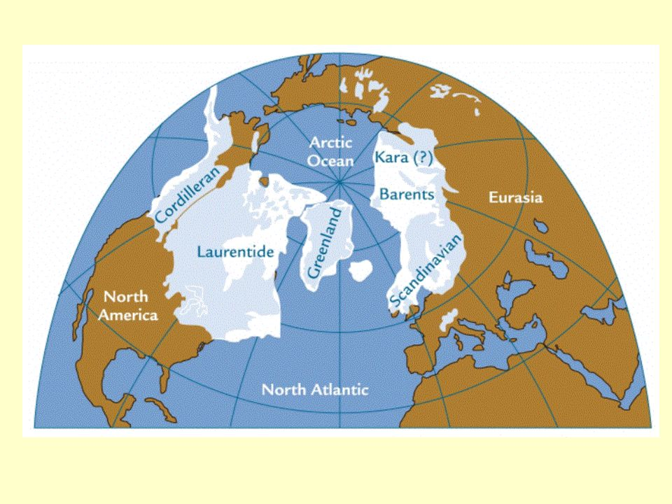 The last Glacial Maximum occurred around 18,000 years ago