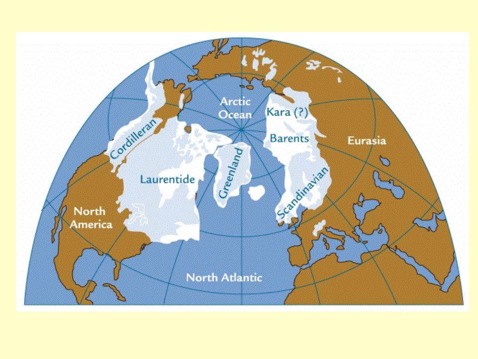 The last Glacial Maximum occurred around 18,000 years ago