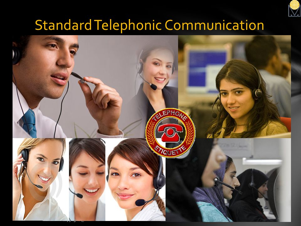 Standard Telephonic Communication