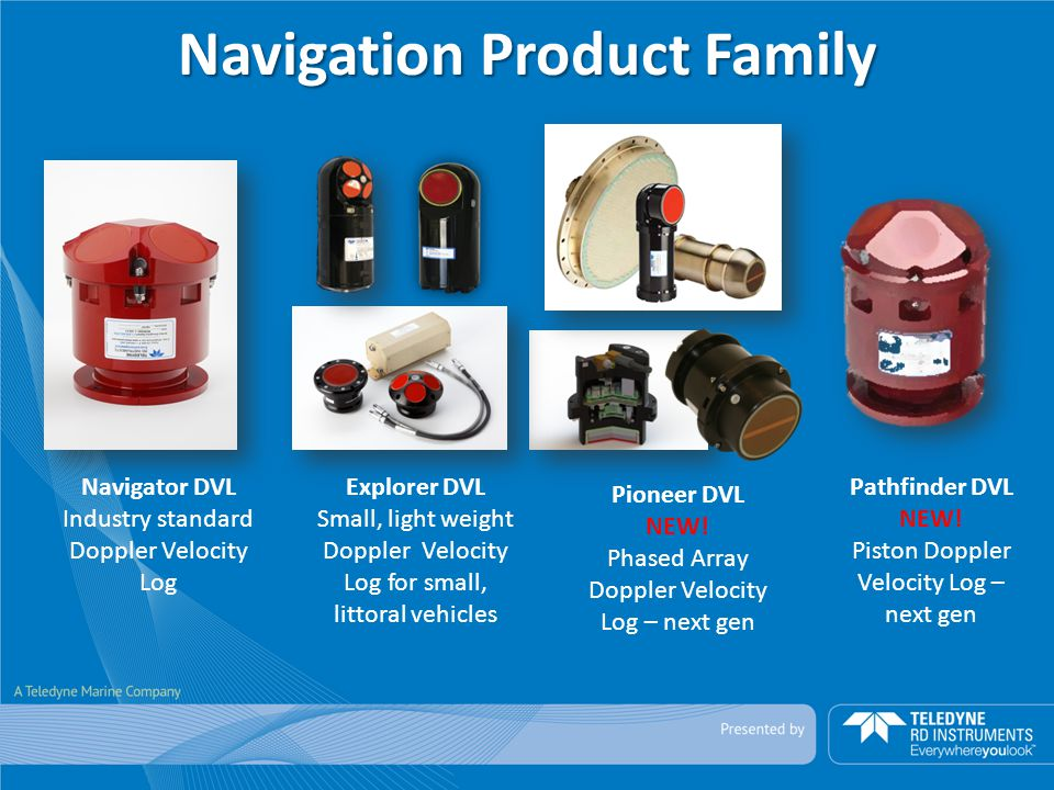 Navigation Product Family