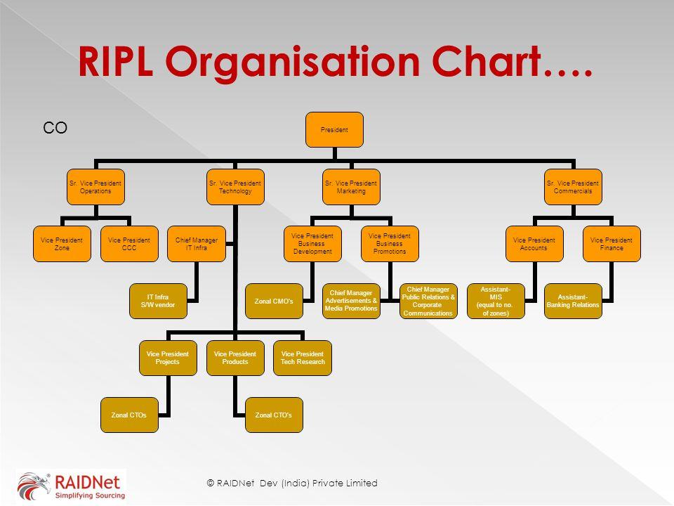 RIPL Organisation Chart….