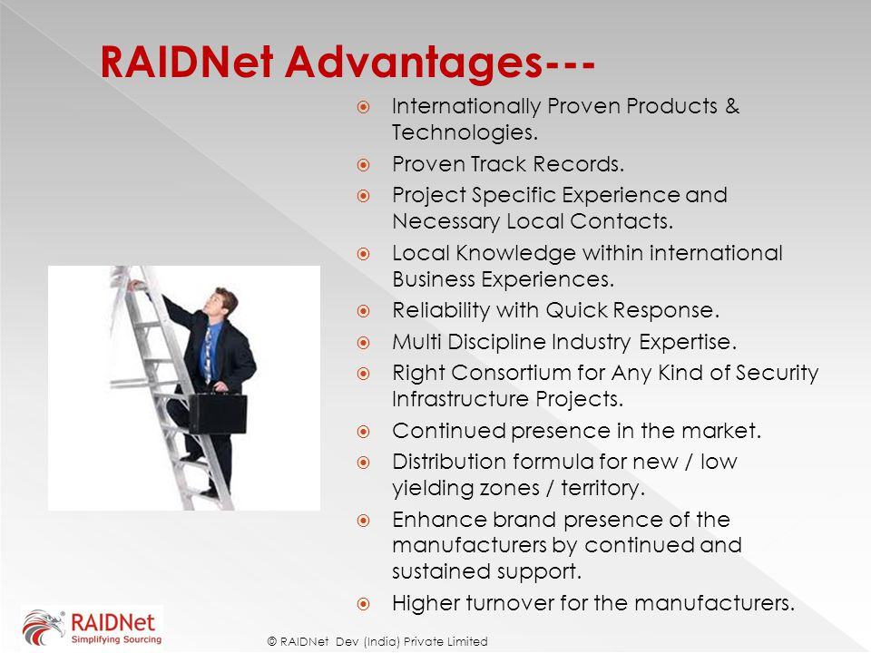 RAIDNet Advantages---