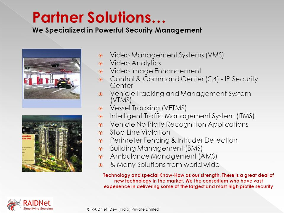 Partner Solutions… We Specialized in Powerful Security Management