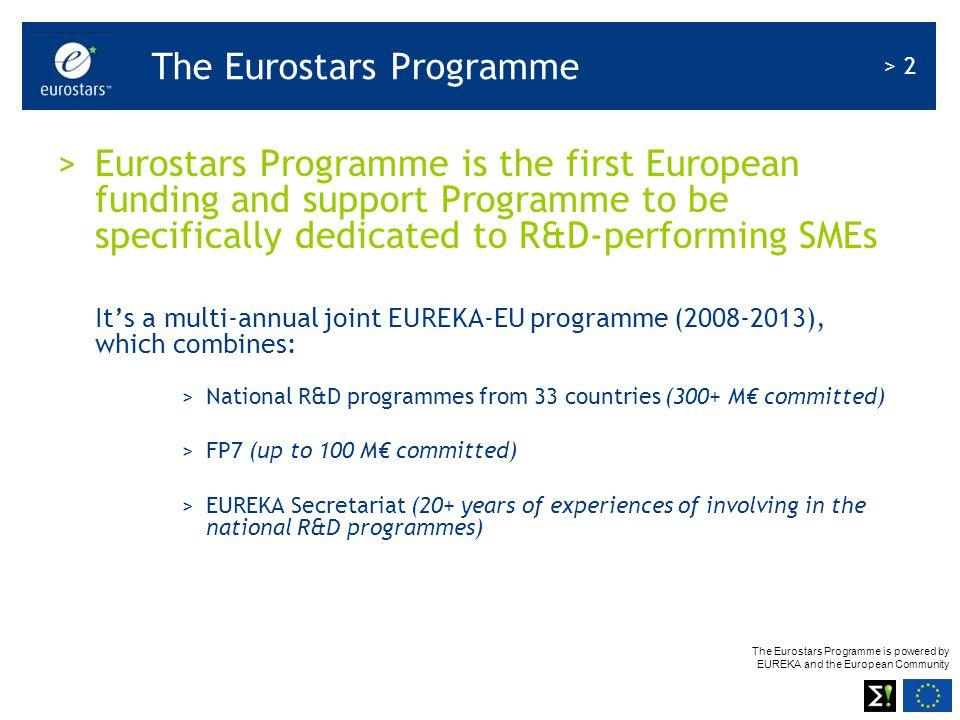 The Eurostars Programme
