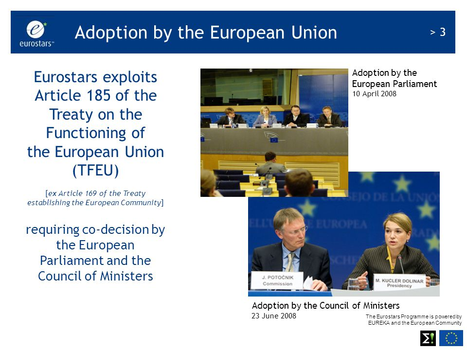 Adoption by the European Union