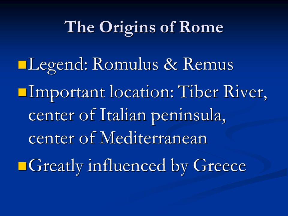 Legend: Romulus & Remus