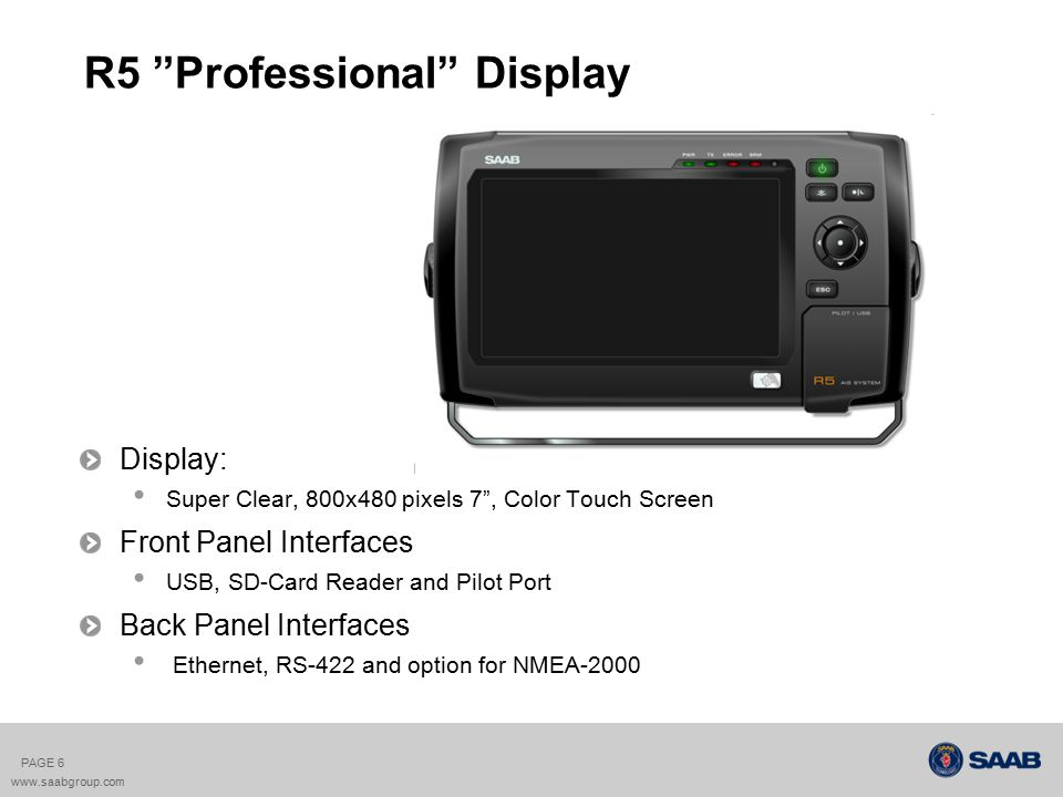 R5 Professional Display