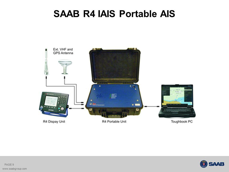 SAAB R4 IAIS Portable AIS