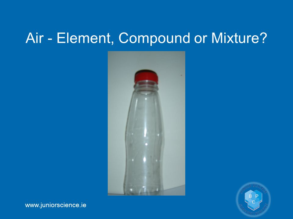Air - Element, Compound or Mixture