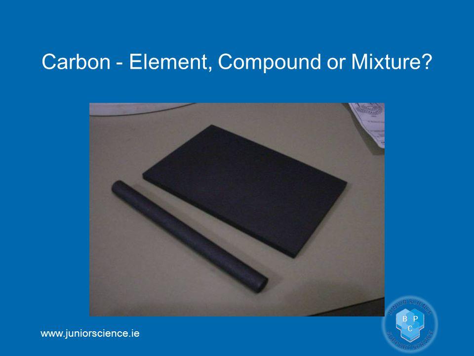 Carbon - Element, Compound or Mixture
