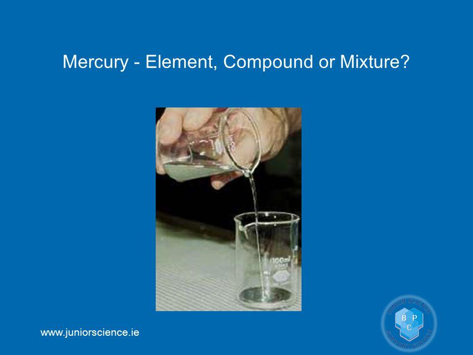 Mercury - Element, Compound or Mixture